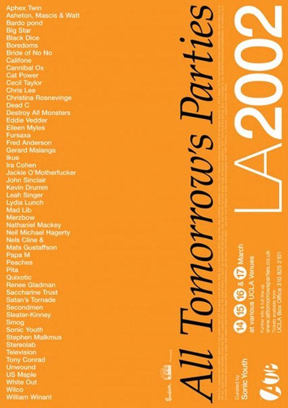 ATP US 2002 poster by Ben Drury