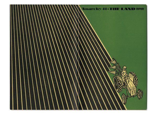 Cover of issue 41 (The Land), designed by Segar