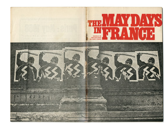 Cover of issue 89 (The Maydays in France), designed by Segar