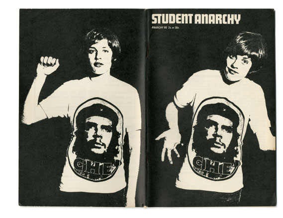 Cover of issue 90 (Student Anarchy), designed by Segar