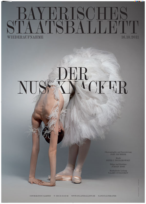 Poster for Bavarian state opera and ballet