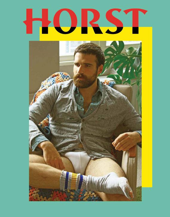 Bureau Mirko Borsche art directs a variety of alternative publications, including gay magazine Horst