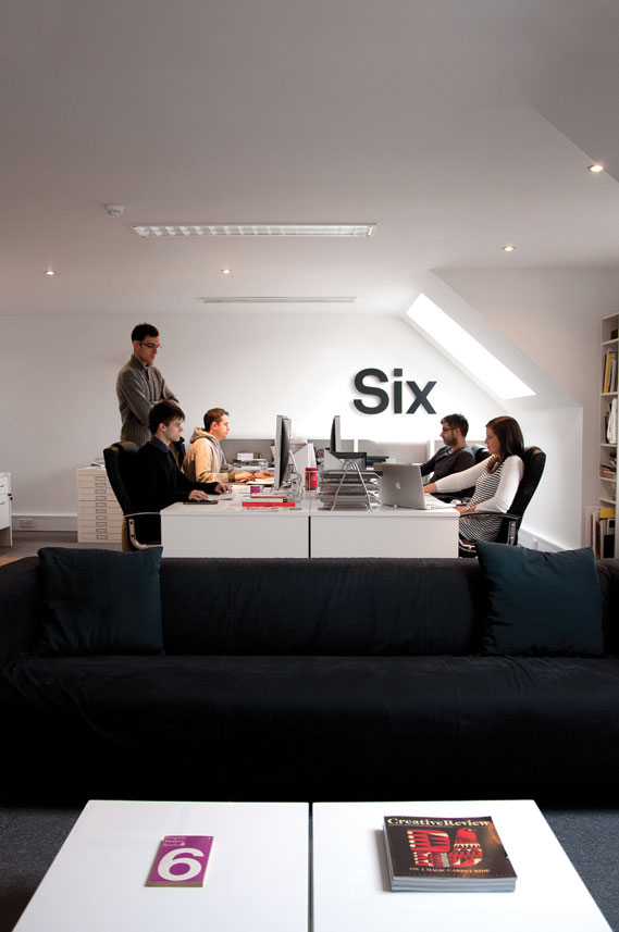 Six's studio space in Enderby, Leicestershire