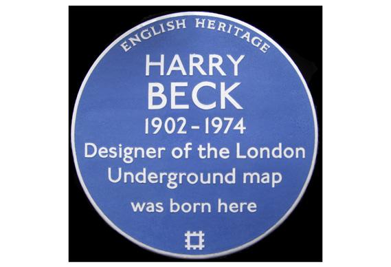 plaque_0.jpg - Harry Beck's home receives Blue Plaque - 5204