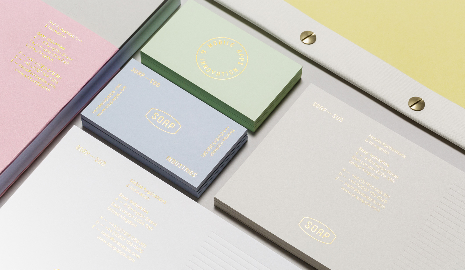 soap_stationery_0.jpg - Socio's pastel identity for app maker Soap Industries - 6153