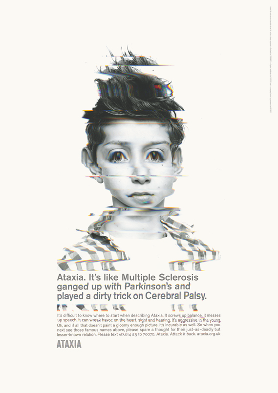 ataxia_orlando1_0.png - TBWA, Paul Belford & Rankin launch campaign for Ataxia UK - 6309