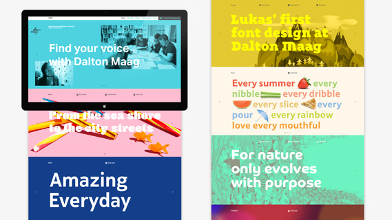 Dalton Maag launches new site allowing users to trial fonts