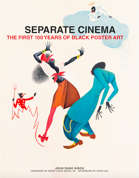 separate cinema 100 years of black poster art creative review