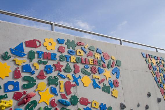 barryislandclimbingwall_4_0.jpg - Barry Island's typographic climbing wall - 6891