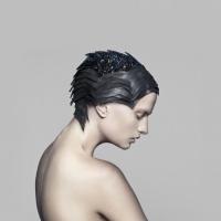 Swarovski headpiece by The Unseen