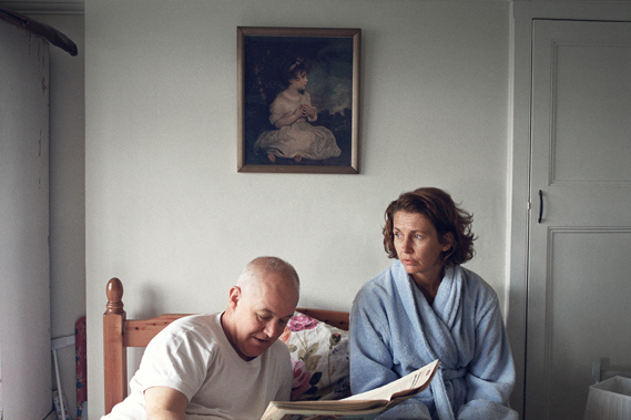 From a COI/NHS Dementia campaign from 2013. Ebrard won a Best in Book in last year's Photography Annual for this work