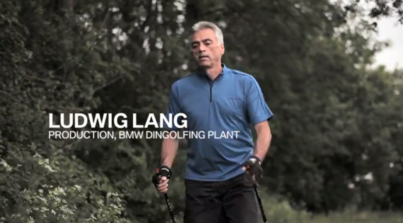 From a film explaining BMW's Today for Tomorrow project in which it redesigned factories to meet the needs of older workers