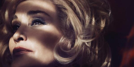 Jessica Lange was announced earlier this year as the face of Marc Jacobs Beauty