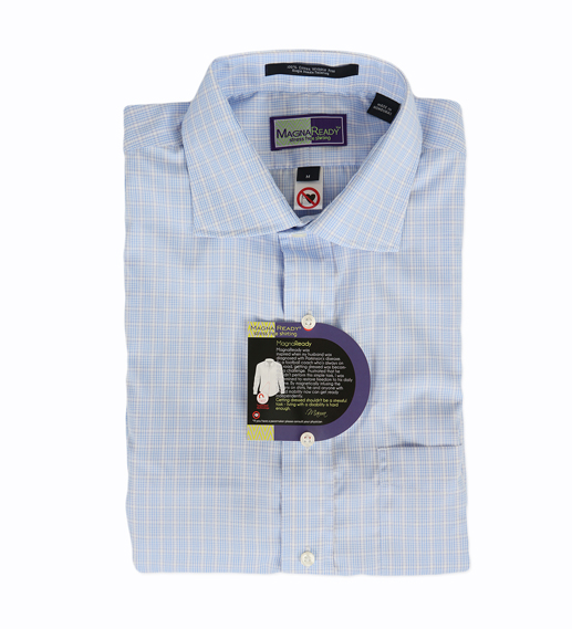 Magnaready shirts feature magnetic fastenings, a boon for those with reduced dexterity