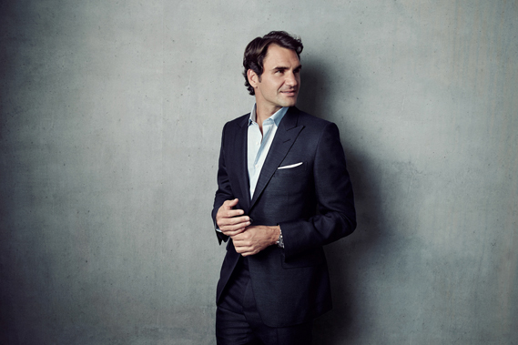 Roger Federer in a recent ad campaign shot by Ebrard for Rolex. Agency: JWT New York; Creative director: John Codling; Retouching: Nick Nedelijkovic, Happy Finish