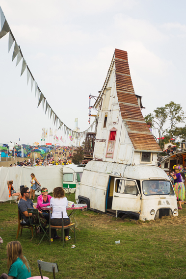 Lastest Caravanserai At Camp Bestival