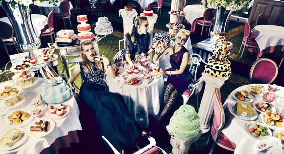 Food styling by Iain Graham for Harrods. Photography by Julia Kennedy