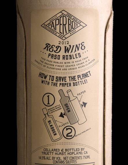 Truett Hurst Paperboy Wine by Stranger & Stranger, UK