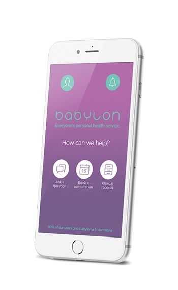 Babylon claims to be the world's first integrated digital healthcare service
