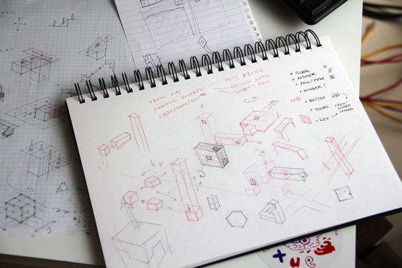 More sketches showing the development process. Since its launch in April 2014 it has been installed on over 10 million devices, making over $5 million in sales. It took a team of eight, 55 weeks to build at ustwo's Shoreditch studio