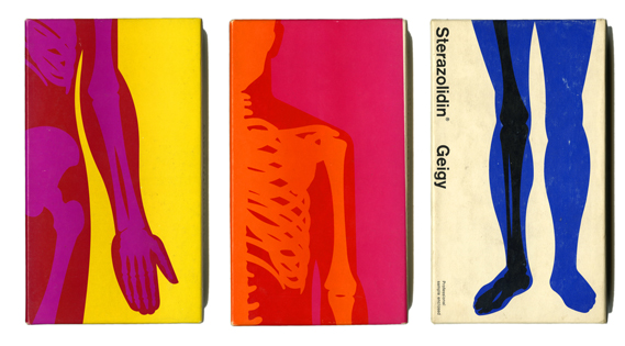 Geigy Physicians' sample kits, Fred Troller, 1964-66