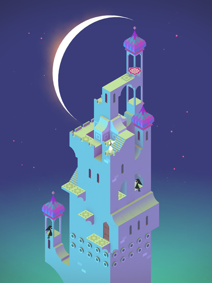 Another level of Monument Valley