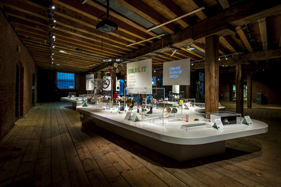 The 3D: Printing the Future show is at the Museum of Science and Industry in Manchester until April 19. Image: MOSI/Jason Lawton