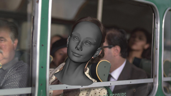 "AMV BBDO's Galaxy ad with Hepburn was shot using a face double with similar bone structure and a body double with a 20in waist. Framestore then created a photoreal CG face based on images and footage of the star aged 19. Chief creative officer Paul Brazier says the star was chosen to reflect ""sophisticated charm"""