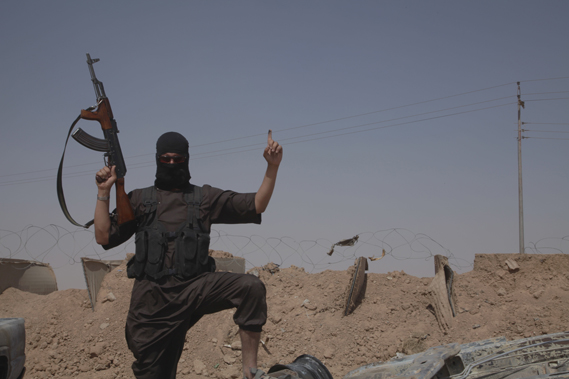 Still from a Vice documentary about Islamic State (director Medyan Dairieh, 2014)