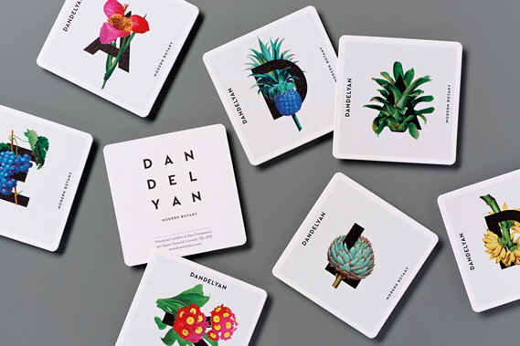 Best in Book: Dandelyan Bar identity & launch invitation (Magpie Studio)
