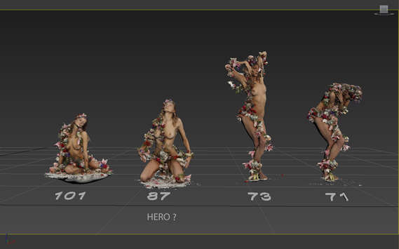 3D models of Werbowy produced using data captured using FBFX's 3D scanning rig