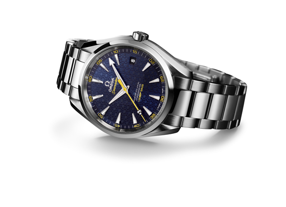 Omega's Seamaster Aqua Terra 'James Bond' edition. omegawatches.com