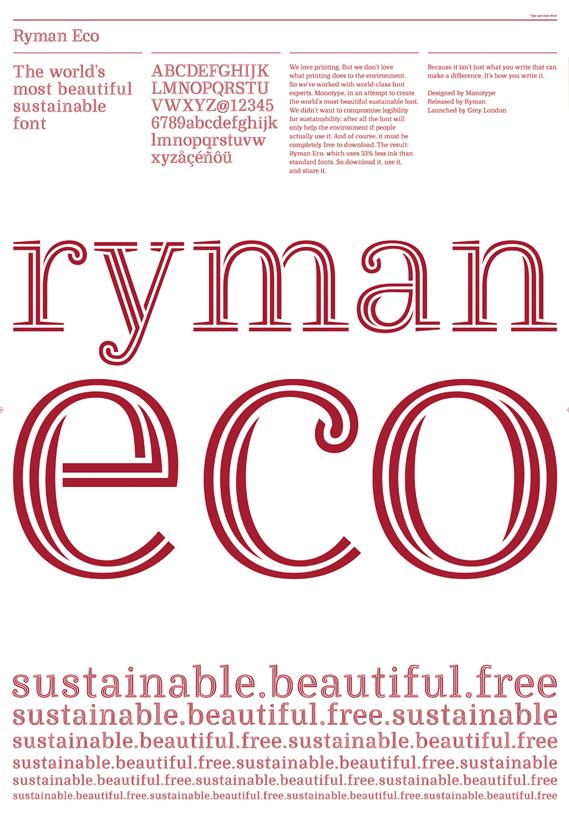 Best in Book: Ryman Eco (Grey London)