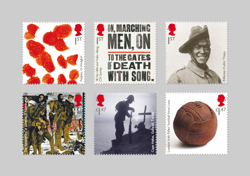 Hat Trick Launches New Set Of World War One Stamps Creative Review