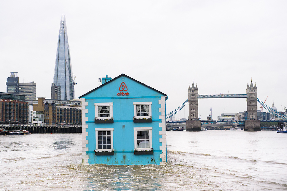 Airbnb launches floating house on the Thames – Creative Review