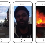 Images from one of Paul Lewis's broadcasts from the riots in Baltimore which followed the death of Freddie Gray. Lewis's Periscope reports can be seen at his profile page at theguardian.com. See also @PaulLewis