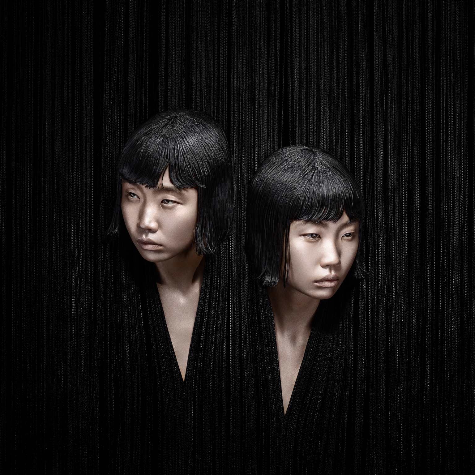 That night: Fluid fringing is a key element of Chalayan's A/W 15 collection, encapsulating mystery and strangeness in a non-linear homage to Agatha Christie's Murder on the Orient Express