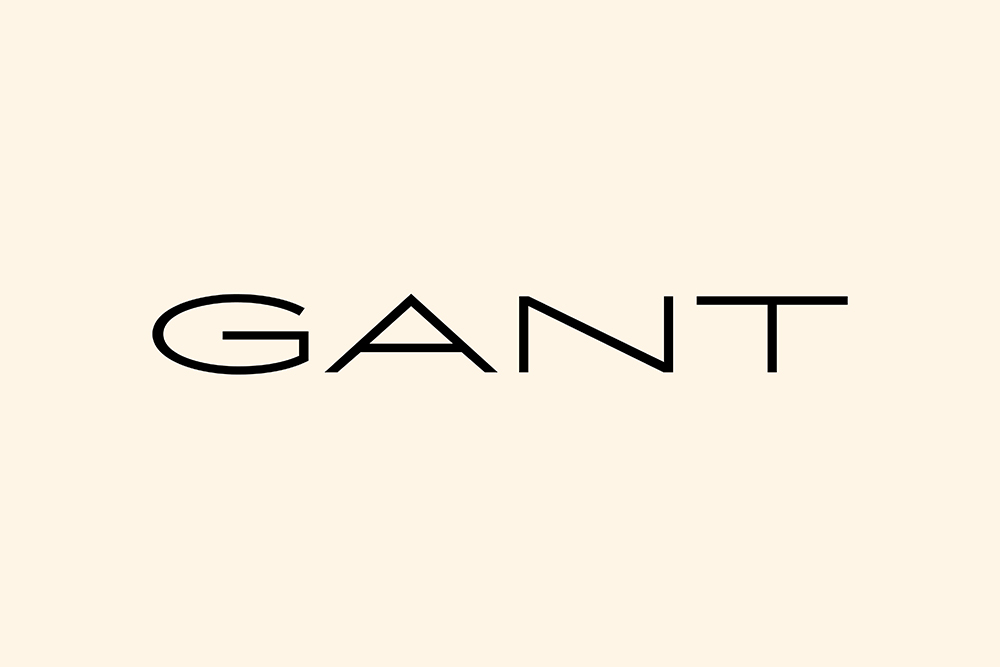 New Gant wordmark
