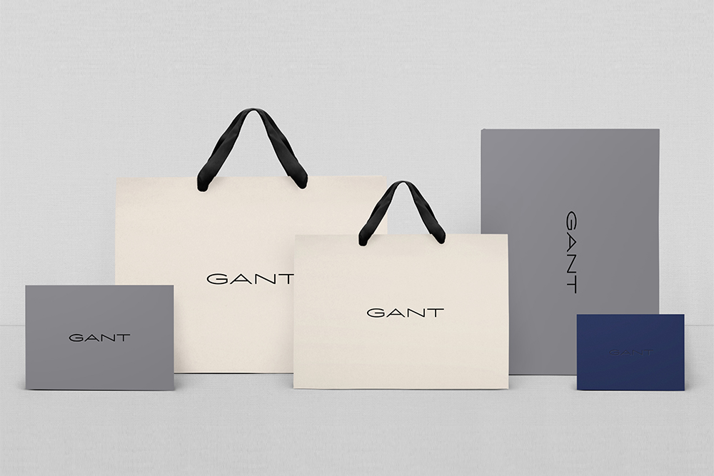 New Gant packaging