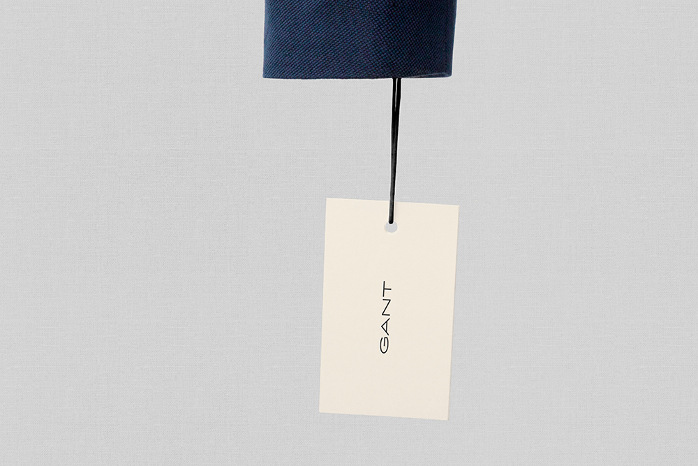 New Gant swing-tag