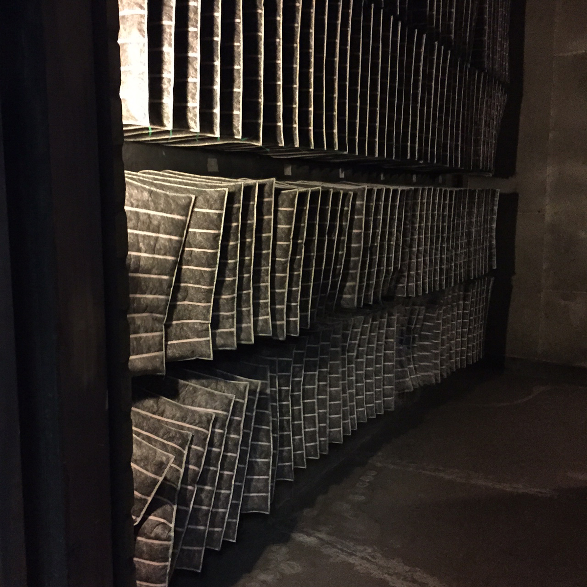 Inside the ventilation room at the Southbank Centre, photo: Eliza Williams