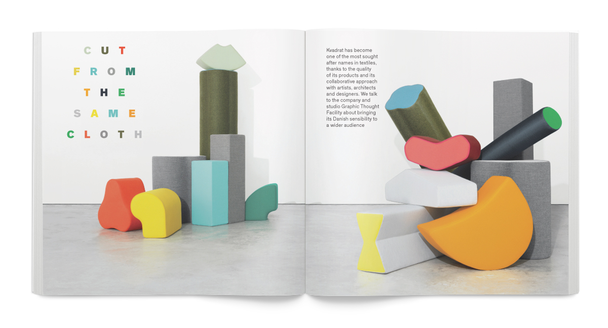 Creative Review October 2015: Mark Sinclair on Kvadrat