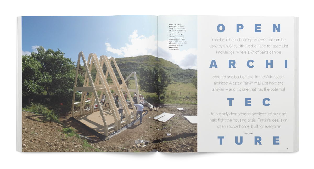 Creative Review October 2015: Jason Orme interviews Alastair Parvin
