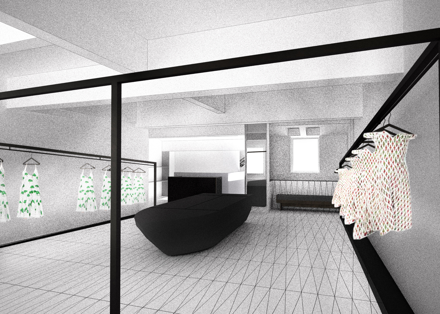 How Chalayan's first London store will look, designed with Zoe Smith at ZCD Architects, zcdarchitects.co.uk