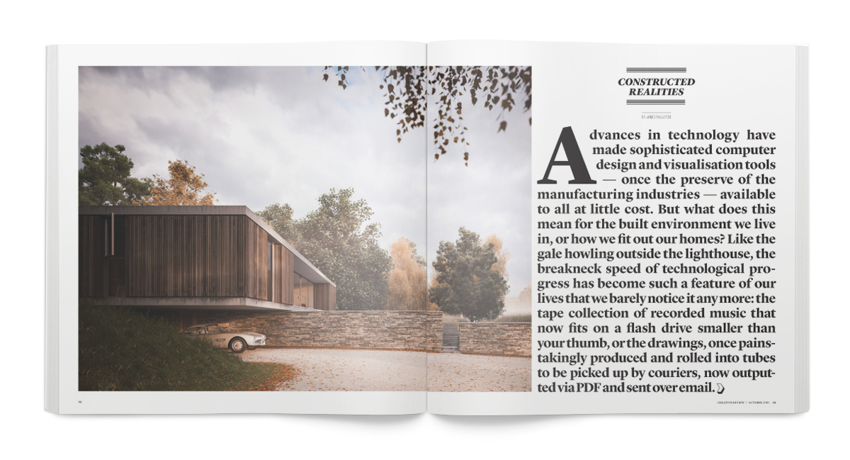 Creative Review October 2015: Constructed Realities