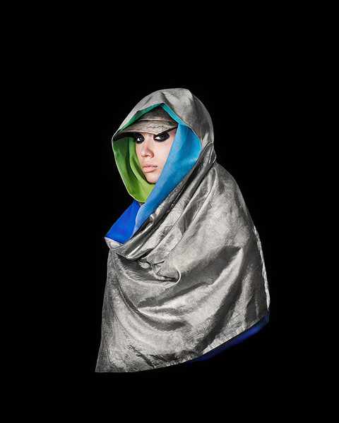 Anti-drone hijab by Adam Harvey