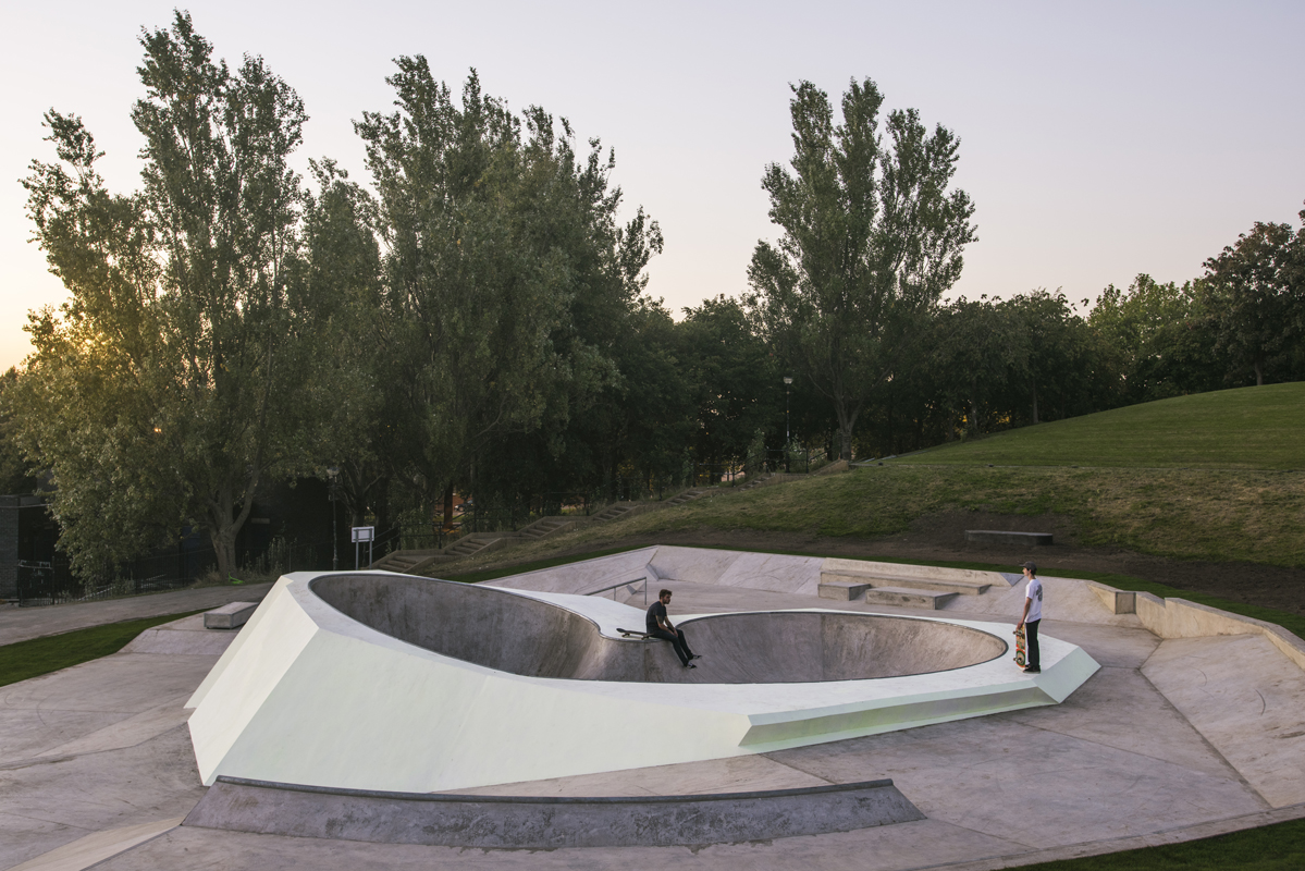 Koo Jeong A x Wheelscape Evertro, Everton Park, 2015 Photo: Thierry Bal