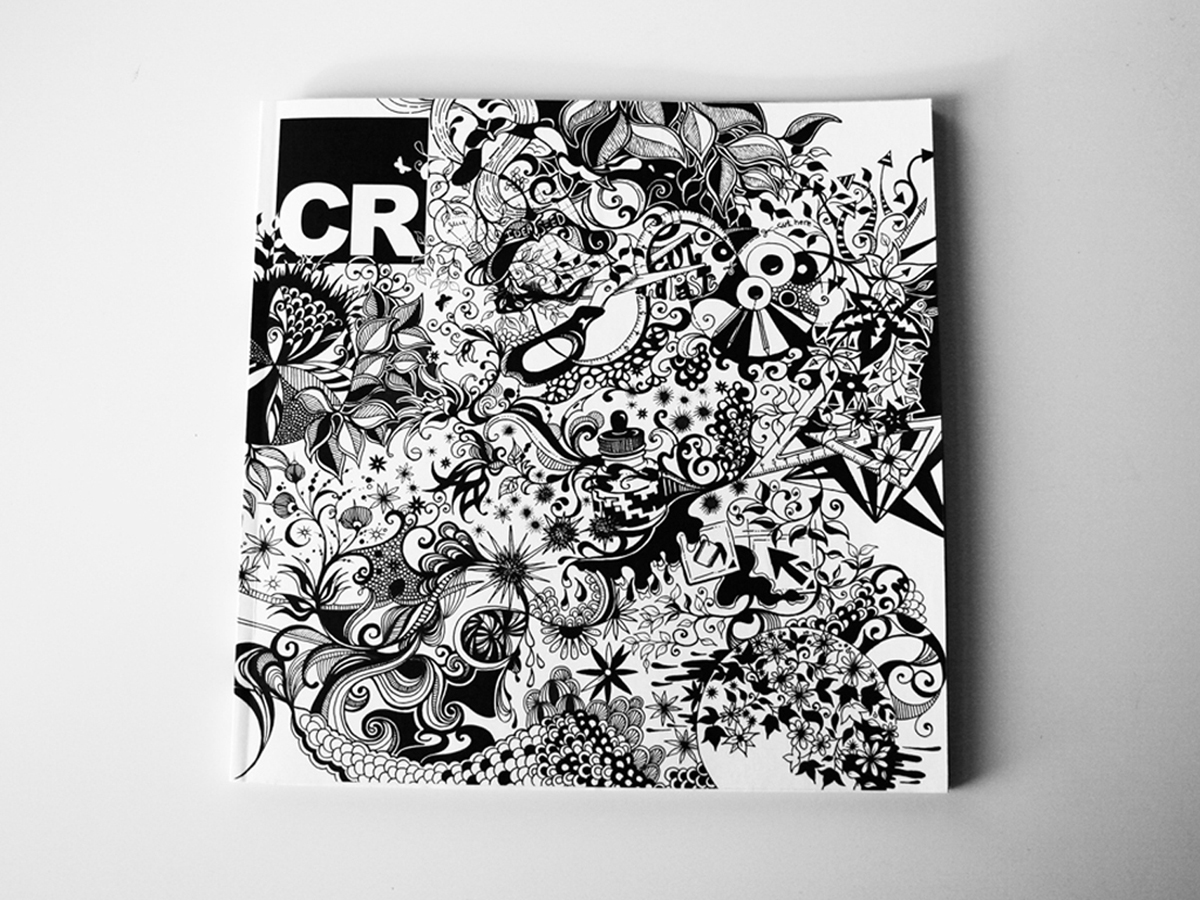 In 2010, Bamford took a copy of CR and created her own illustrated cover for it. She sent the cover for us and asked if we would be interested in commissioning her