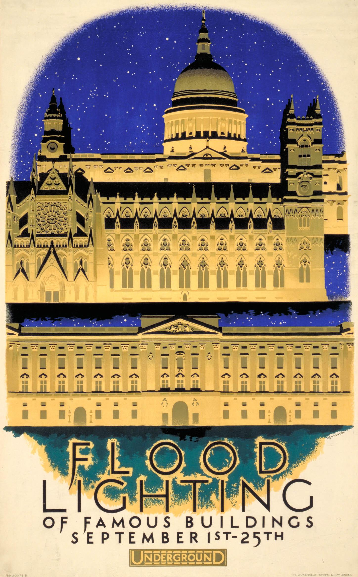 Floodlighting by Harold Sandys Williamson, 1931