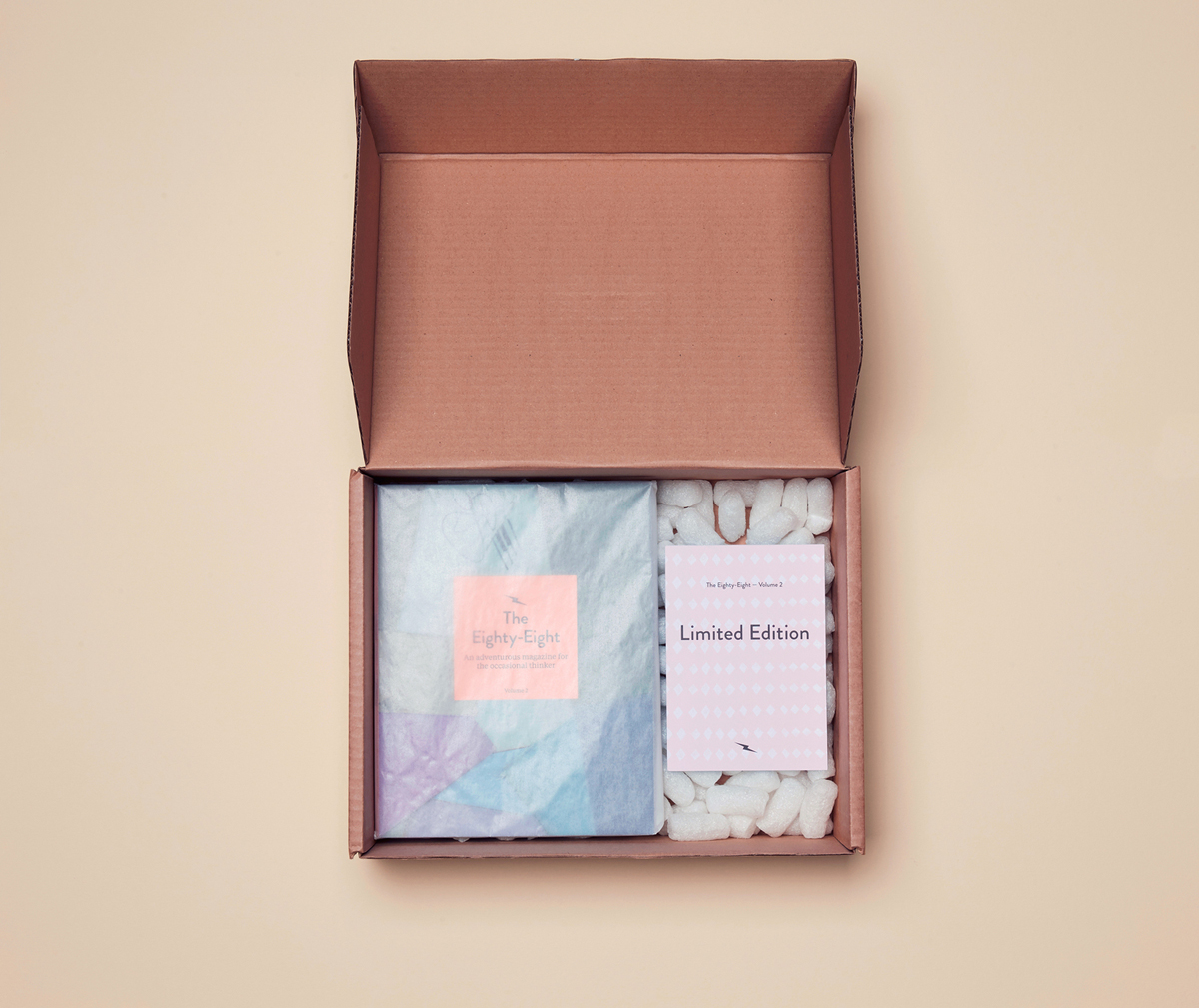 Limited edition box set produced for issue two